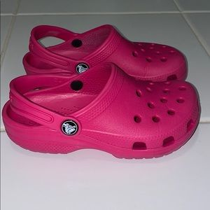 Girl's Pink Crocs
